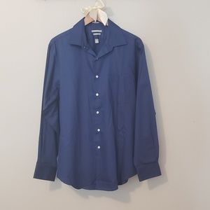 Van Heusen Blue Dress Shirt